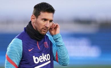 Barca vui mừng với hình ảnh của Messi trước chung kết Siêu Cúp
