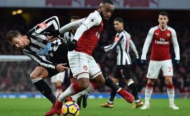 Link xem trực tiếp Arsenal vs Newcastle, bóng đá Anh hôm nay 18/1