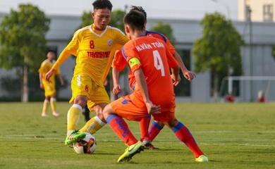 Trực tiếp bóng đá U19 Quốc gia Việt Nam hôm nay 18/1: U19 SLNA vs U19 Huế