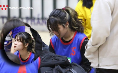 Nước mắt Đặng Minh Hà trong ngày trở lại bóng rổ sau chấn thương dây chằng