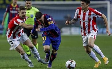 Bằng chứng cho thấy Messi đau khổ thế nào ở trận thua Bilbao