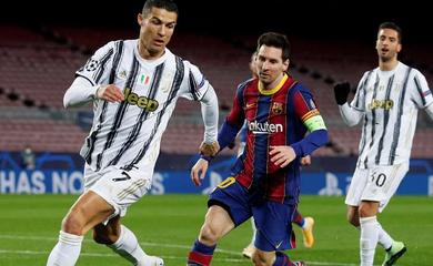 So sánh thành tích của Messi và Ronaldo ở các trận chung kết