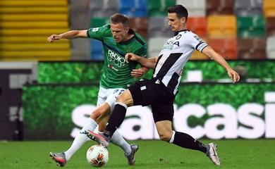 Nhận định Udinese vs Atalanta, 21h00 ngày 20/01, VĐQG Italia