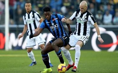 Link xem trực tiếp Udinese vs Atalanta, bóng đá Ý hôm nay
