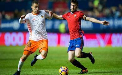 Nhận định Valencia vs Osasuna, 01h00 ngày 22/01, VĐQG Tây Ban Nha
