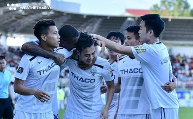 Kết quả HAGL vs SLNA, video V.League 2021