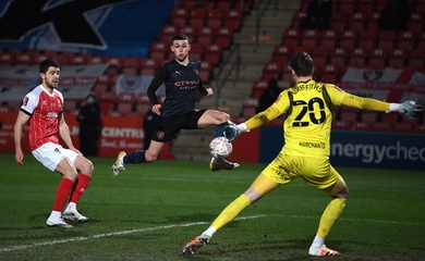 Video Highlight Cheltenham Town vs Man City, bóng đá Anh hôm nay 24/1