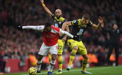 Link xem trực tiếp Southampton vs Arsenal, bóng đá Anh hôm nay 23/1