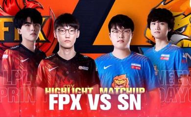 SofM và SN nhận thất bại thứ 3 liên tiếp, FPX áp sát Top đầu