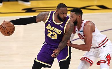 Nhận định NBA: Los Angeles Lakers vs Chicago Bulls (Ngày 24/1 9h00)