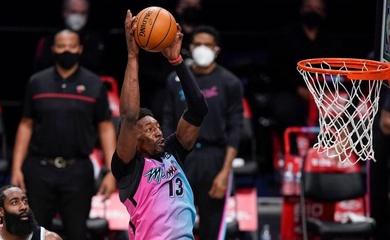 41 điểm của Bam Adebayo không thể giúp Heat hạ gục Big Three của Nets
