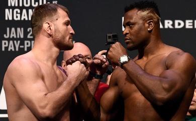 Stipe Miocic vs Francis Ngannou 2 chính thức dẫn đầu UFC 260 ngày 27/3