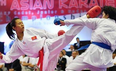 """Nhà vô địch Karatedo thế giới Nguyễn Thị Ngoan tái xuất sau 2 năm """"mất tích"""""""