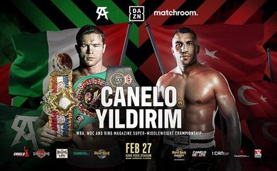 """Chốt kèo"" Canelo Alvarez vs Avni Yildirim vào ngày 27/2 tại Miami"