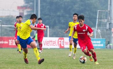 Trực tiếp bóng đá U19 Quốc gia Việt Nam hôm nay 25/1: U19 Viettel vs U19 Hà Nội