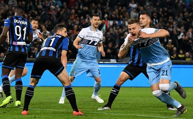 Video Highlight Atalanta vs Lazio, bóng đá Ý hôm nay 28/1