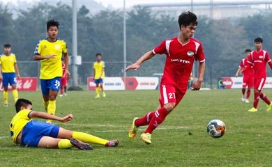 Trực tiếp bóng đá U19 Quốc gia Việt Nam hôm nay 28/1: U19 PVF vs U19 Viettel