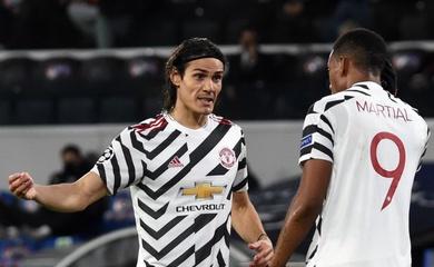 Đội hình ra sân MU vs Sheffield United dự kiến: Cavani và Martial cùng đá chính