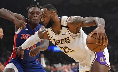 Nhận định NBA: Los Angeles Lakers vs Detroit Pistons (Ngày 28/1 8h00)
