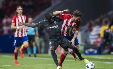 Lịch trực tiếp Bóng đá TV hôm nay 23/2: Atletico Madrid vs Chelsea