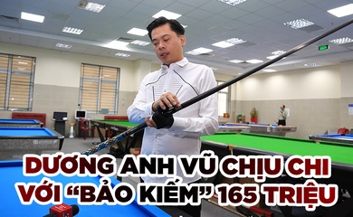 """Chịu chi như Dương Anh Vũ với """"bảo kiếm"""" 165 triệu đồng"""