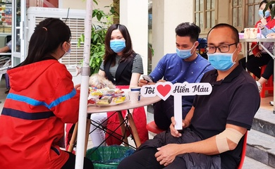 Chạy bộ kết hợp hiến máu nhân đạo