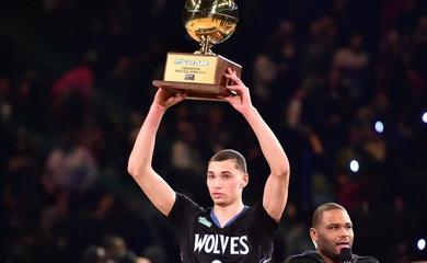 Thánh úp rổ Zach LaVine gây sốc khi từ chối dự Dunk Contest NBA All-Star 2021