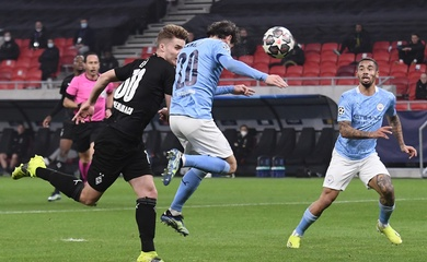 Video Highlight Gladbach vs Man City, bóng đá cúp C1 đêm qua