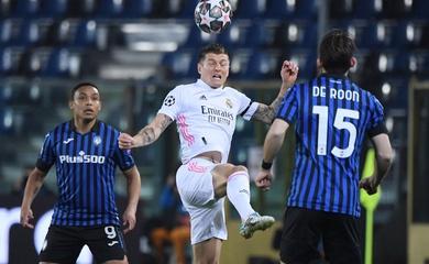 Xem lại bóng đá cúp C1 đêm qua: Atalanta vs Real Madrid