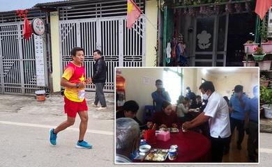 Marathoner Đoàn Ngọc Hải phục vụ quán ăn 30 phút, nhận thù lao 60 triệu đồng làm từ thiện
