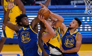 Nhận định NBA: Indiana Pacers vs Golden State Warriors (ngày 25/02, 07h30)