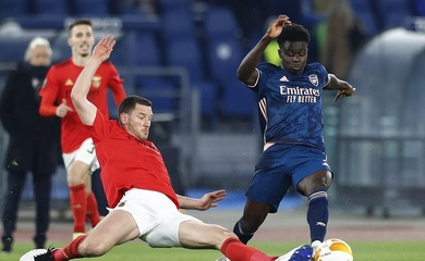 Trực tiếp Arsenal vs Benfica, bóng đá cúp C2 hôm nay