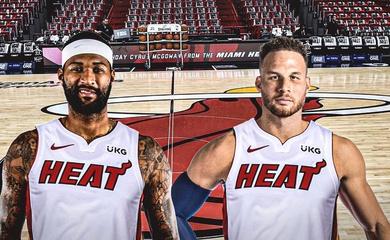 Miami Heat sẵn sàng chiêu mộ DeMarcus Cousins, Blake Griffin