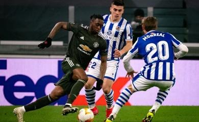 Trực tiếp MU vs Real Sociedad, bóng đá cúp C2 hôm nay