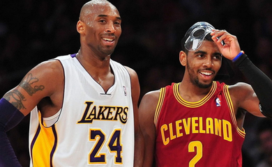 Kyrie Irving khởi xướng chiến dịch đổi logo NBA tri ân Kobe Bryant, người hâm mộ đồng lòng