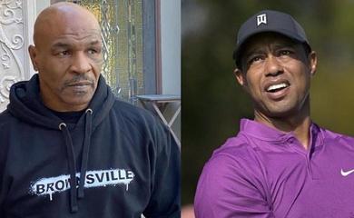 """Mike Tyson động viên Tiger Woods sau tai nạn thảm khốc: """"Hãy chiến đấu như nhà vô địch"""""""
