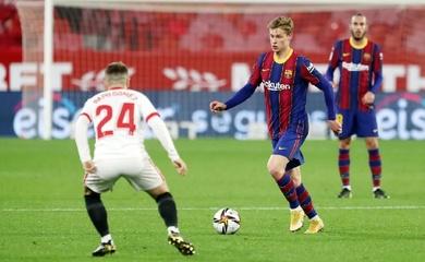 Trực tiếp Sevilla vs Barca, bóng đá Tây Ban Nha hôm nay