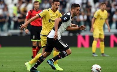 Trực tiếp Verona vs Juventus, bóng đá Ý hôm nay