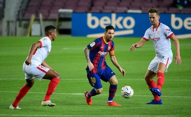 Đội hình ra sân Sevilla vs Barca hôm nay 27/2: Tam tấu Griezmann - Messi - Dembele
