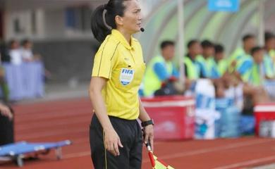 Giải hạng Nhất QG 2021 xuất hiện các trọng tài nữ