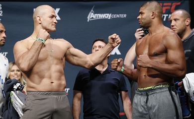 UFC chia tay hai lão tướng Junior Dos Santos và Alistair Overeem