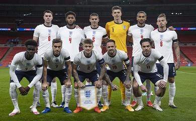 Đội hình tuyển Anh 2021 mới nhất đá vòng loại World Cup