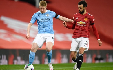 Lịch thi đấu bóng đá Ngoại hạng Anh hôm nay 7/3: Man City vs MU