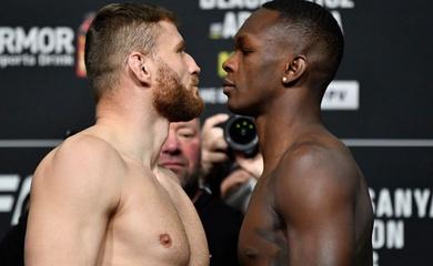 UFC 259 Israel Adesanya vs. Jan Blachowicz: Khi tham vọng đối đầu danh dự