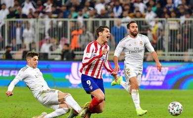 Link xem trực tiếp Atletico Madrid vs Real Madrid, bóng đá Tây Ban Nha hôm nay 7/3