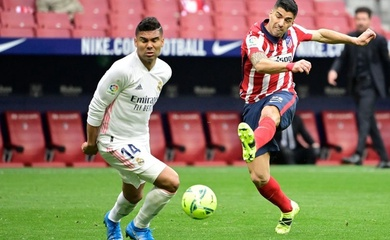 Video Highlight Atletico Madrid vs Real Madrid, bóng đá Tây Ban Nha hôm nay 8/3