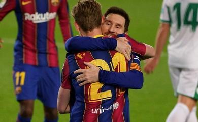 Barca trả lương cao nhất thế giới với Messi dẫn đầu