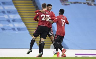 Xem lại bóng đá Ngoại hạng Anh đêm qua: Man City vs MU
