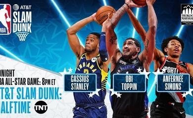 TRỰC TIẾP bóng rổ NBA All-Star 2021: Slam Dunk Contest