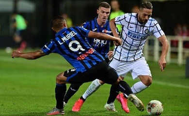 Video Highlight Inter Milan vs Atalanta, bóng đá Ý hôm nay 9/3